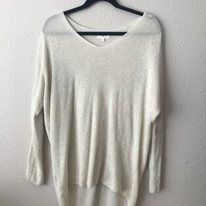 Lou and Grey high low lightweight sweater